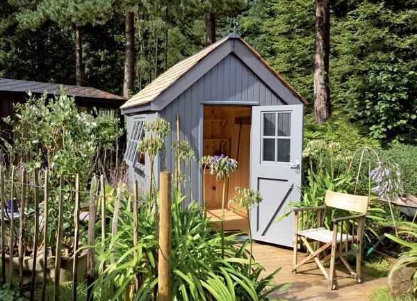 The Kew Darwin premium garden shed by Malvern Garden Buildings