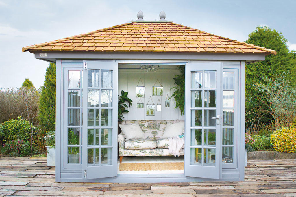 The Kew Victoria premium summerhouse by Malvern Garden Buildings