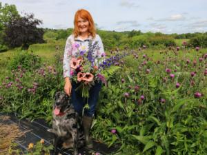 Down on the Flower Farm