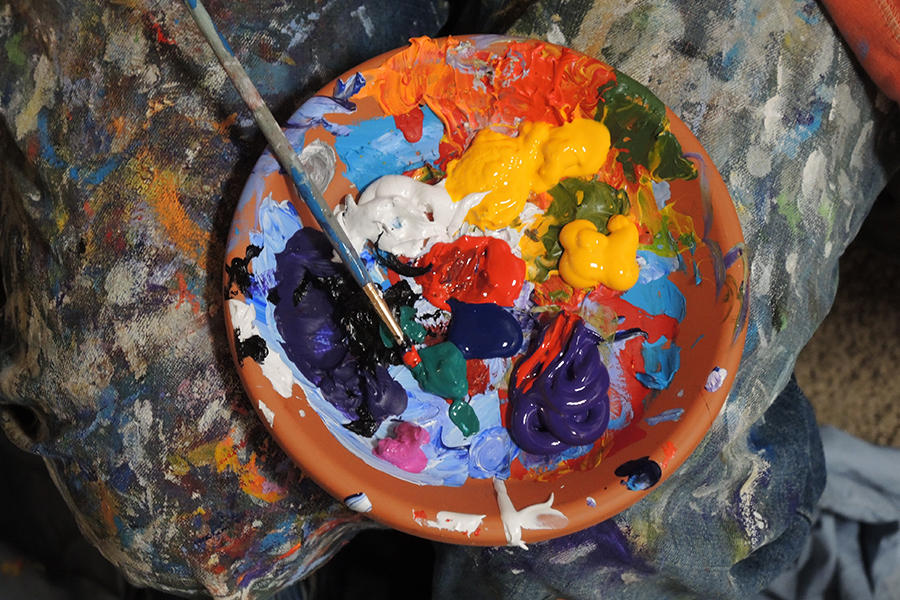 Paint pallete