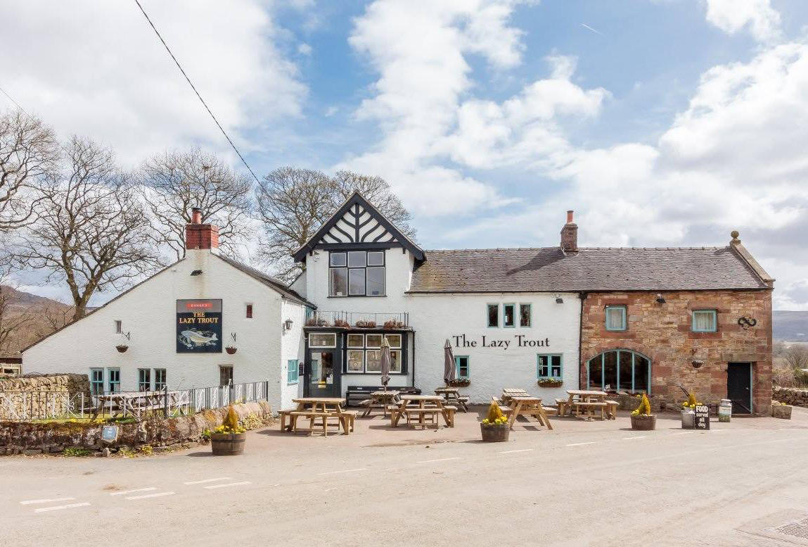 The Lazy Trout, Leek, Staffordshire. Staycation, Inspiration by Malvern Garden Buildings