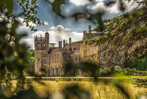 Lacock Abbey, Lacock, Wiltshire. Staycation Inspiration by Malvern Garden Buildings