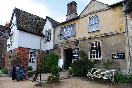 George Inn, Wiltshire. Staycation Inspiration by Malvern Garden Buildings