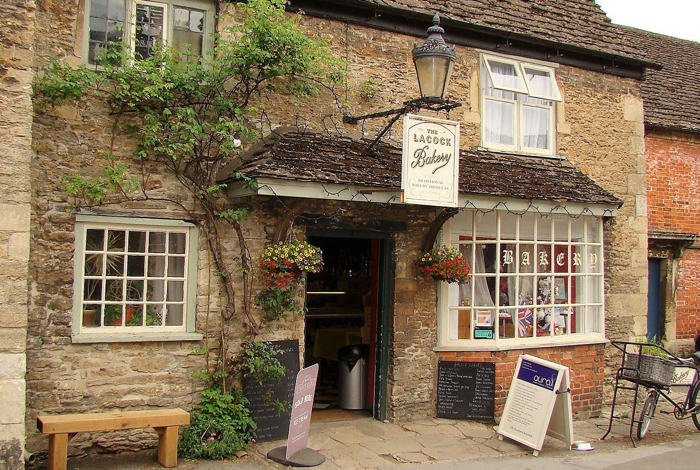 Lacock bakery, Lacock, Wiltshire. Staycation Inspiration by Malvern Garden Buildings