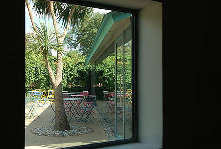 Sunbury Embroidery Gallery & Café, Sunbury-on Thames. Staycation, Inspiration by Malvern Garden Buildings