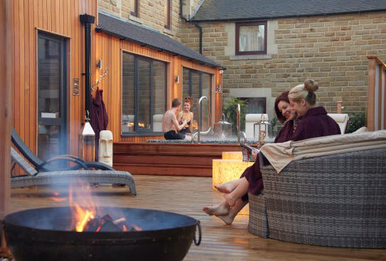 The Three Horseshoes Country Inn & Spa, Leek, Staffordshire. Staycation, Inspiration by Malvern Garden Buildings