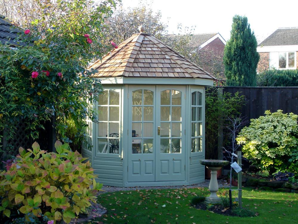 Hopton Cottage Range summerhouse by Malvern Garden Buildings