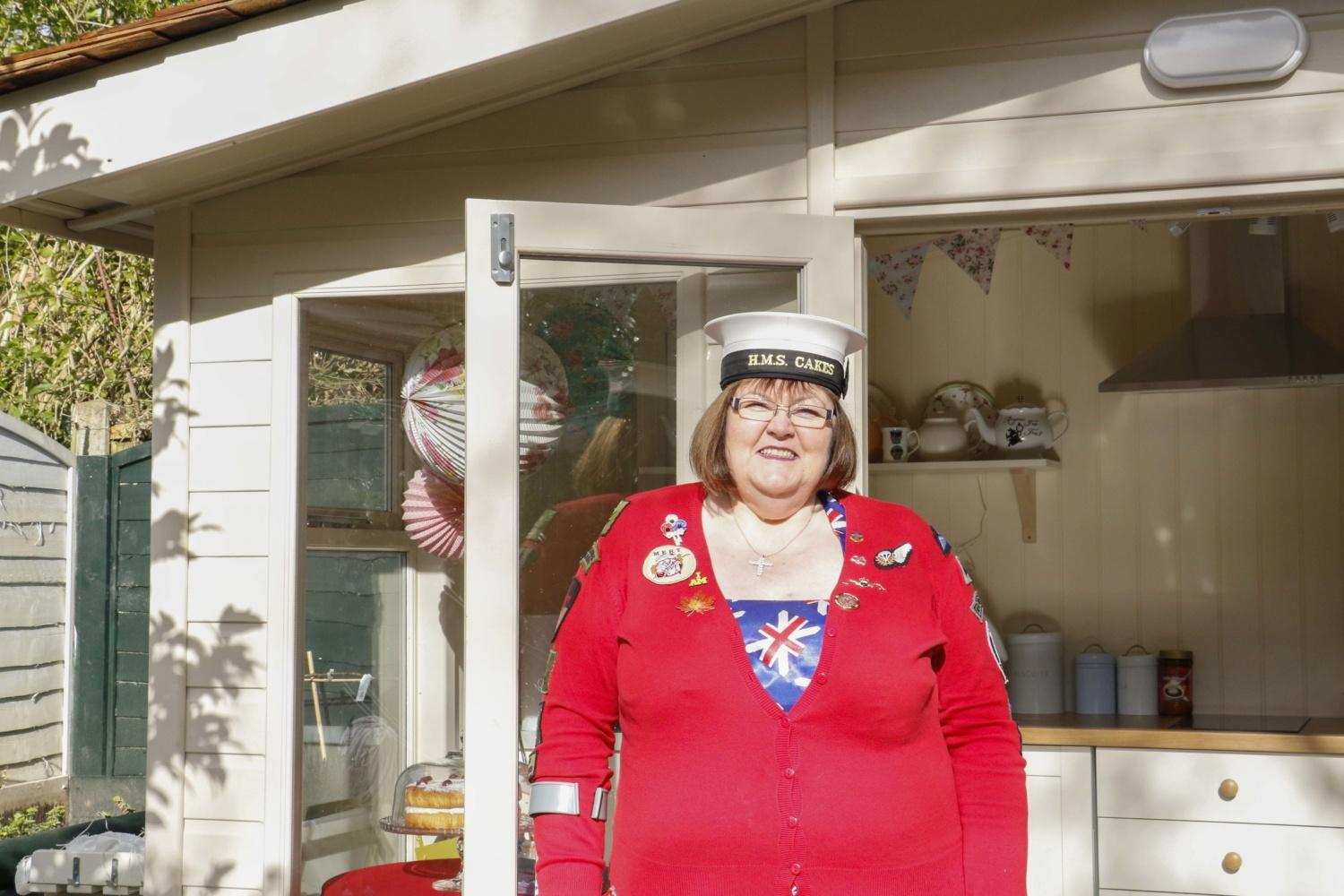 ITV's Love Your Garden visited Kath Ryan to give her the garden makeover of her dreams! Kath is the founder of Cakes4Casulaties and has been baking sweet treats for injured service personnel for over a decade. She now has a dedicated Garden Studio donated by Malvern Garden Buildings with a full kitchen to bake cakes and teach baking to her ex-service armed forces friends.
