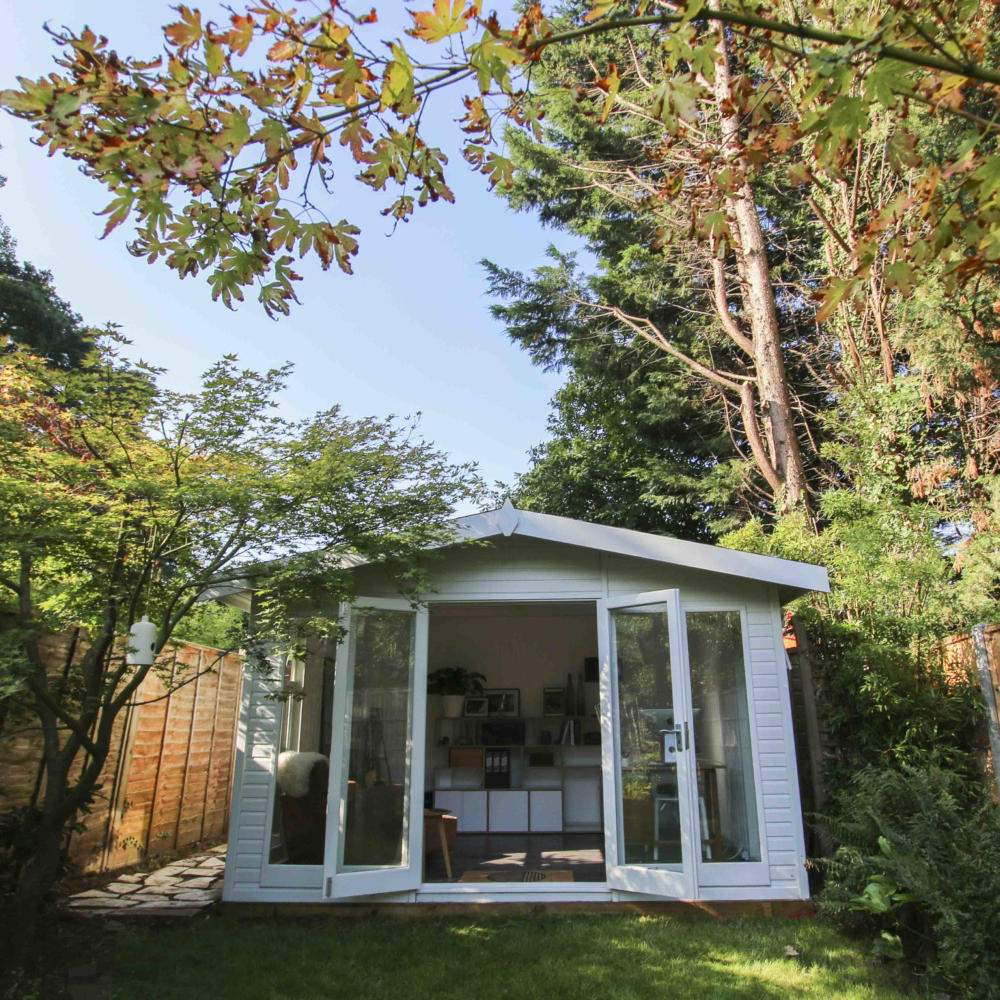 Working-From-Your-Garden-Office by Garden Escape