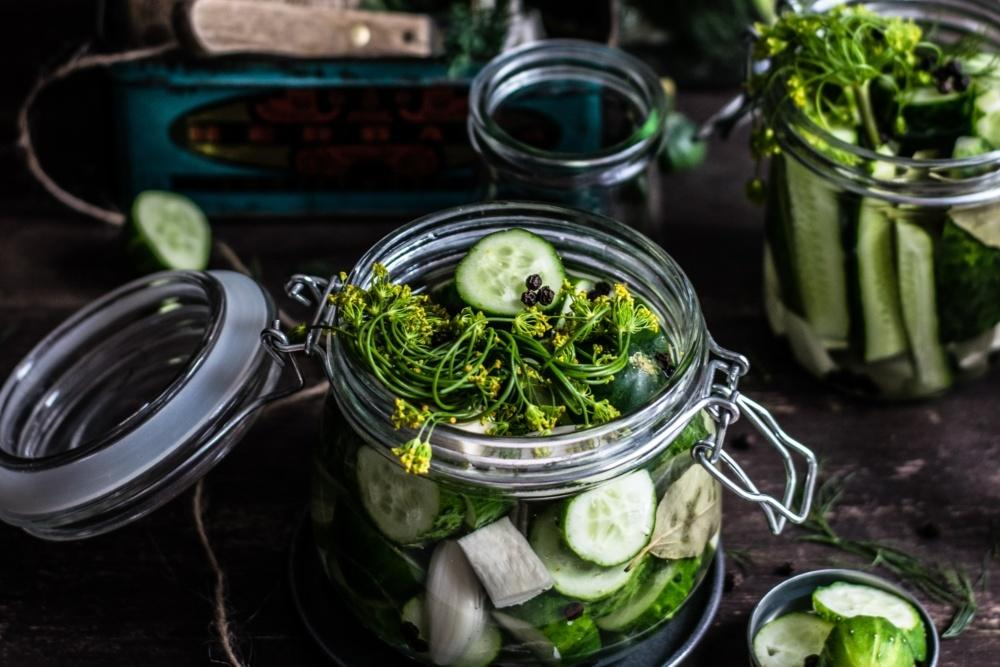 Pickling to preserve food