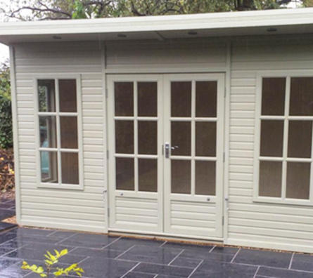 Arley Pent with painted exterior