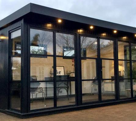 Hanley Heritage bespoke garden office by Malvern Garden Buildings