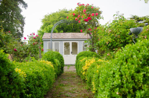 The Bloomsbury Writing Shed - Cottagecore style