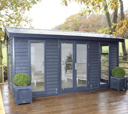 Barn Style Garden Studio by Malvern Garden Buildings