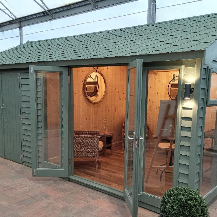 Barn Style Garden Studio