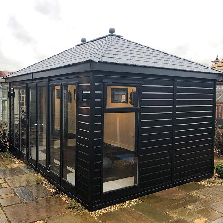 Hipped Roof Garden Studio