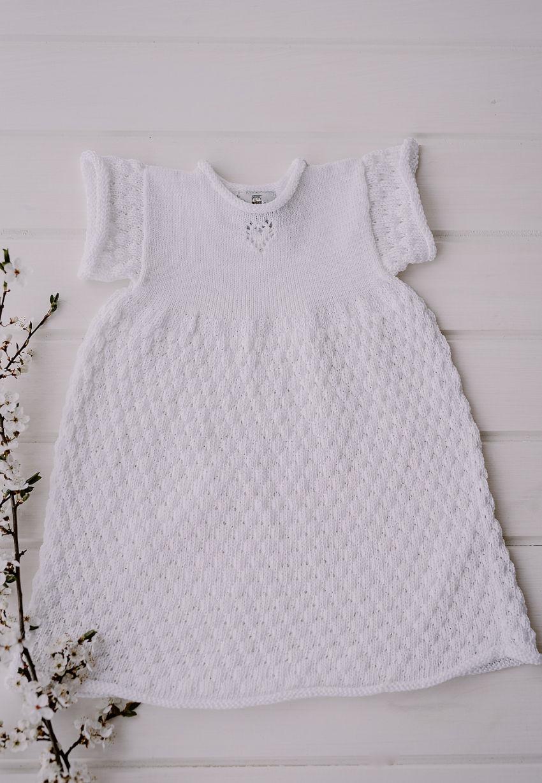 apranga mergaitėms | Suknelės | lino ir medvilnės suknelė mergaitėms iki