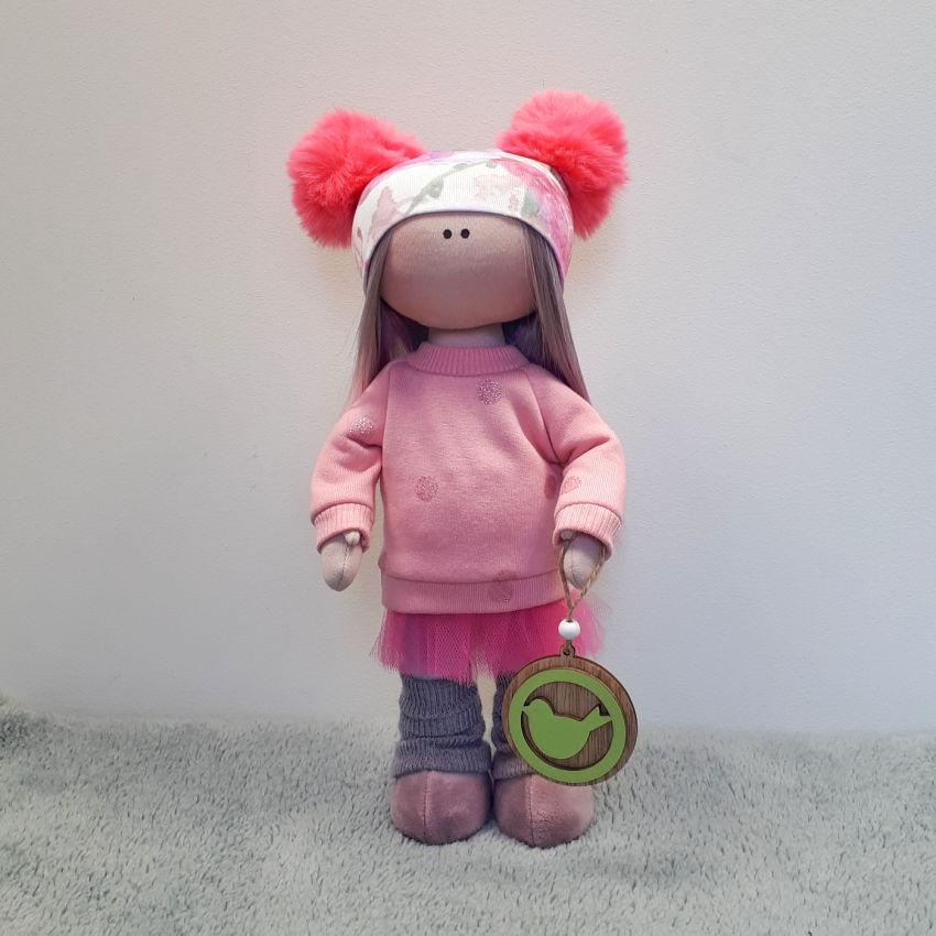 žaislai | lėlės | rankų darbo tekstilinė siūta minkšta lėl