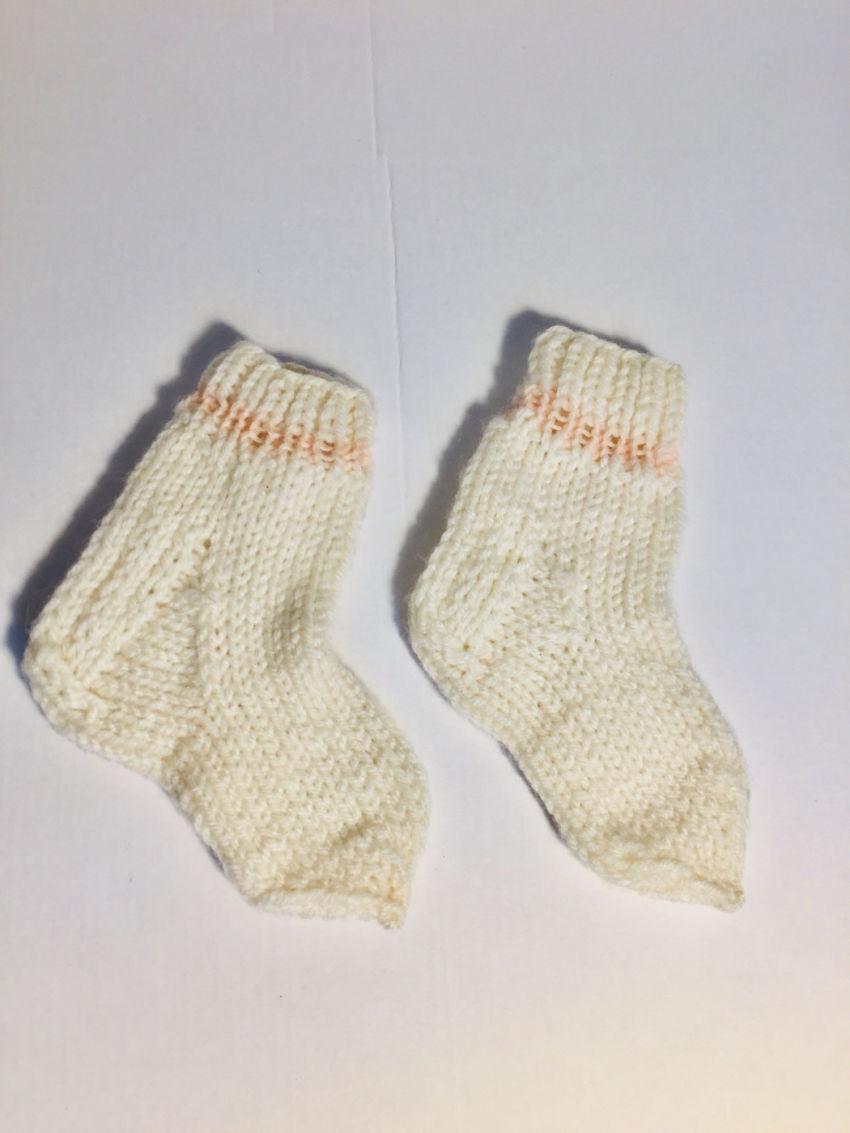 avalynė | kojinės | ankstukų  kojinės, avių vilnos, baltos s