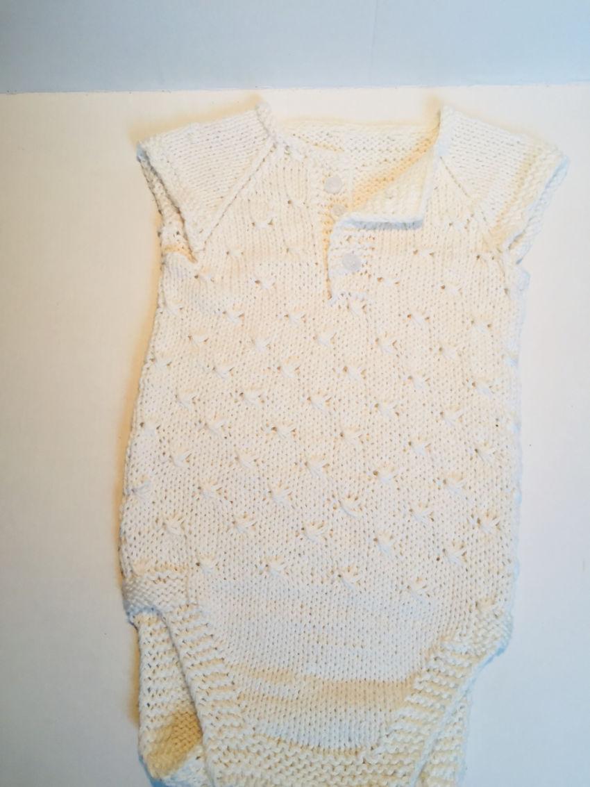 apranga berniukams | Smėlinukai | megztas iš medvilninių baltos spalvos  s