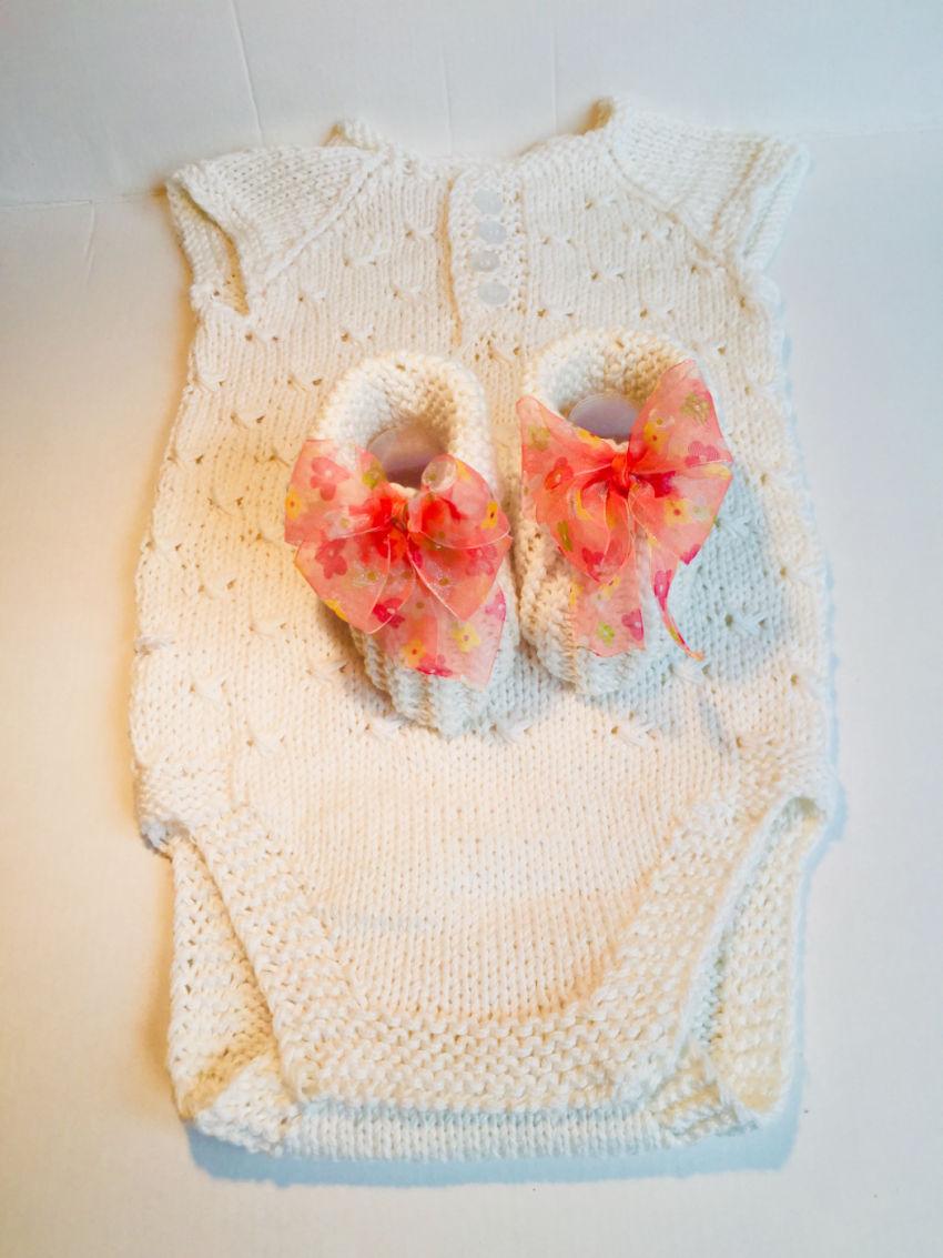 apranga mergaitėms   Smėlinukai   megztas iš medvilninių baltos spalvos  s