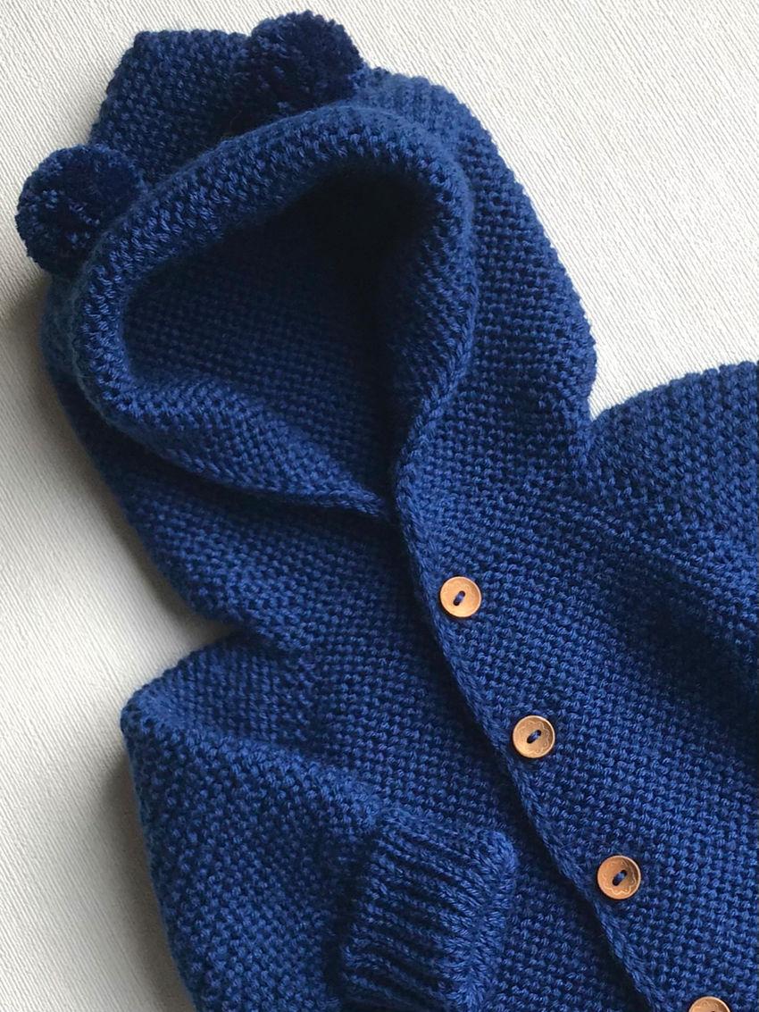 apranga berniukams   Komplektukai   megztas pusvilnės kombinezonas mažyliui