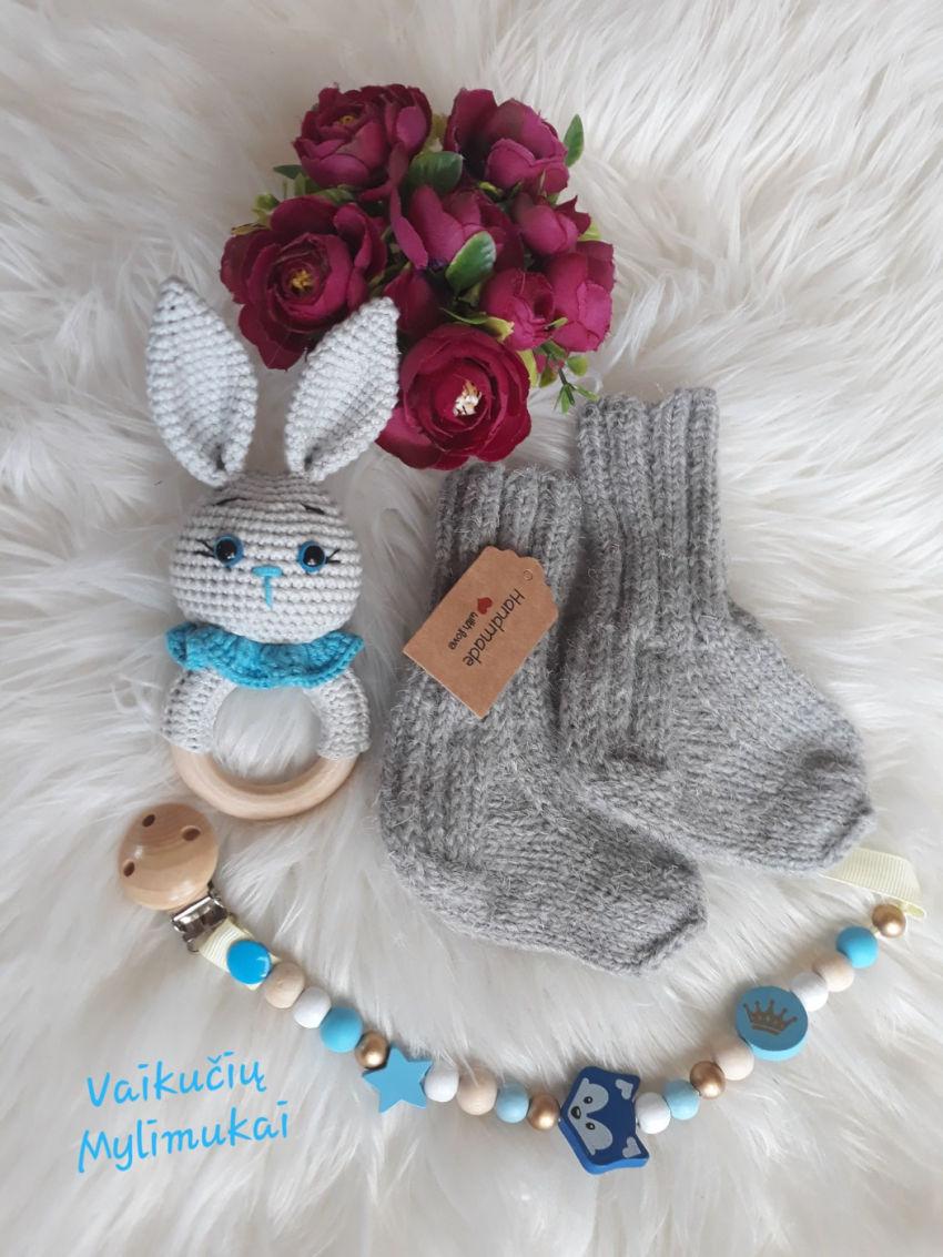 apranga berniukams | Komplektukai | mielas rinkinukas,kojinytės, čiulptuko l