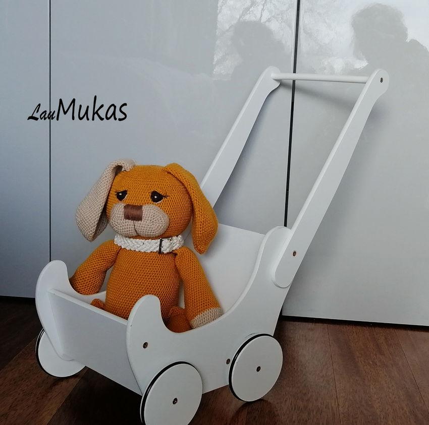 žaislai   minkšti   nertas minkštas žaislas šuniukas, medvil