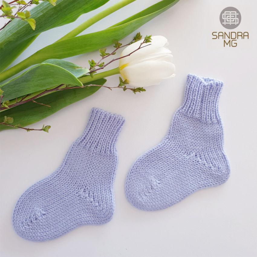 apranga berniukams   Kelnytės   pirmosios kojinytės kūdikiui, melsvos me