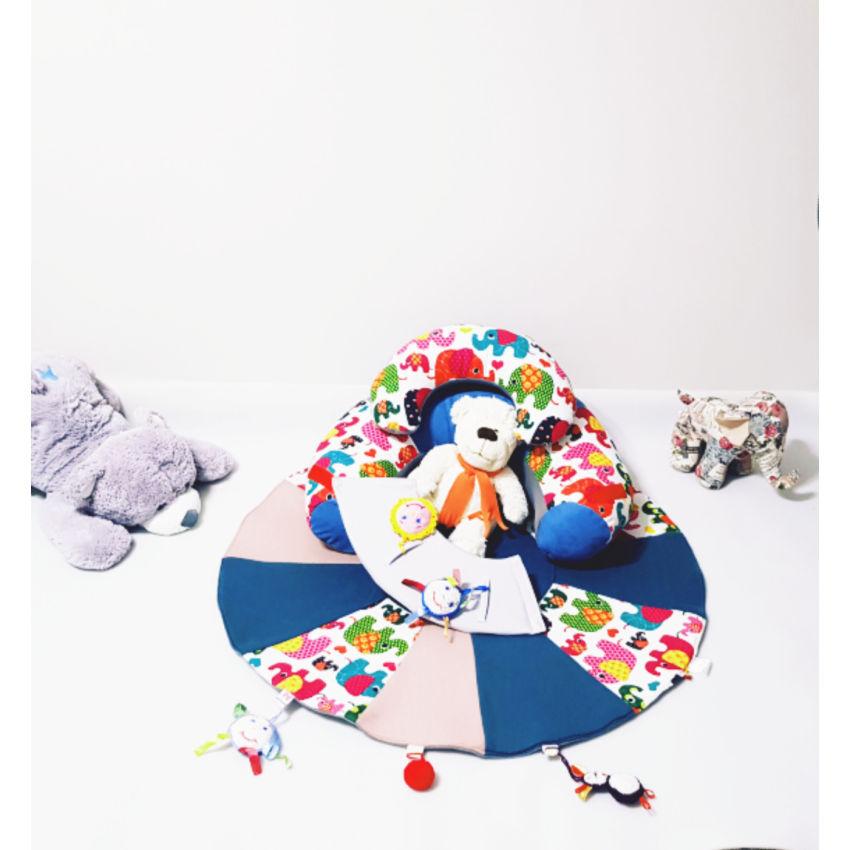 dekoracijos | kilimėliai |  sėdėjimo/atraminė pagalvė su žaidimų ki