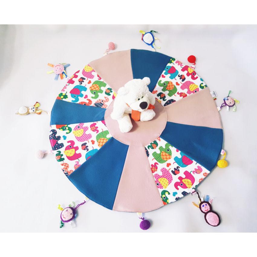 """dekoracijos   kilimėliai   žaidimų kilimėlis su žaisliukais """"drambl"""
