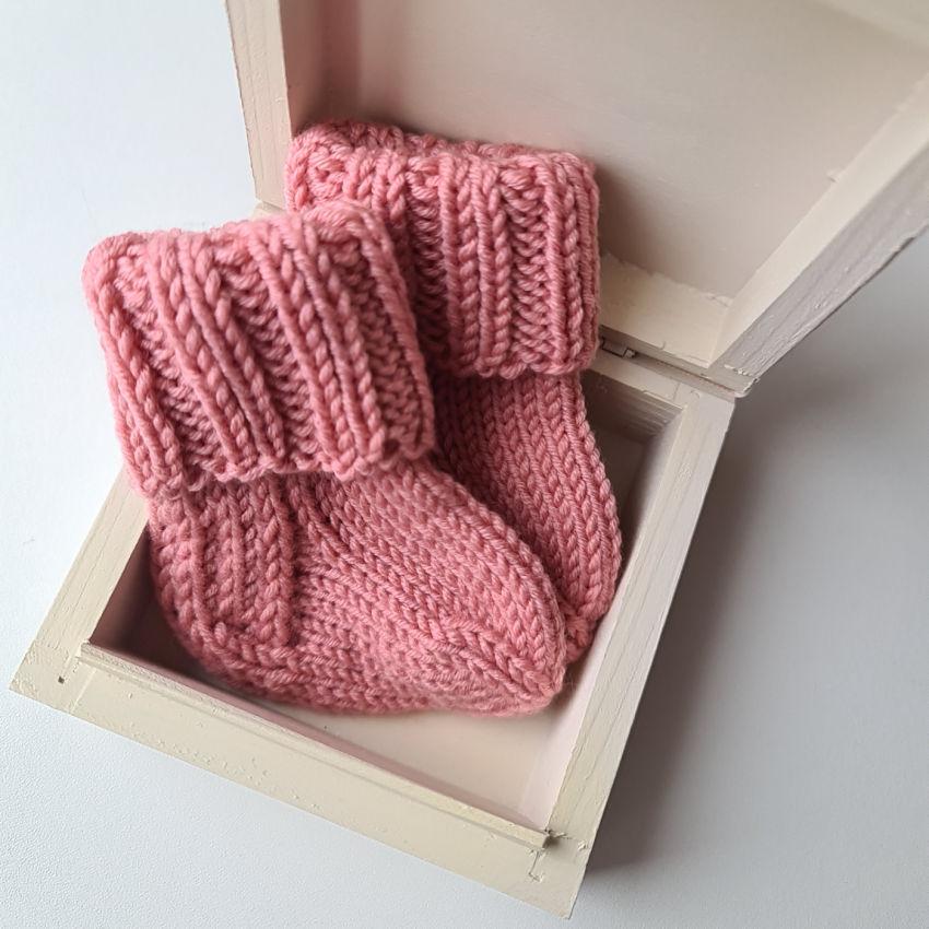 avalynė | kojinės | merino vilnos šiltos ir švelnios 0-6mėn
