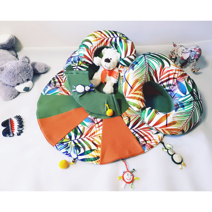 dekoracijos | pagalvėlės | sėdėjimo/atraminė pagalvė + maitinimo/ži
