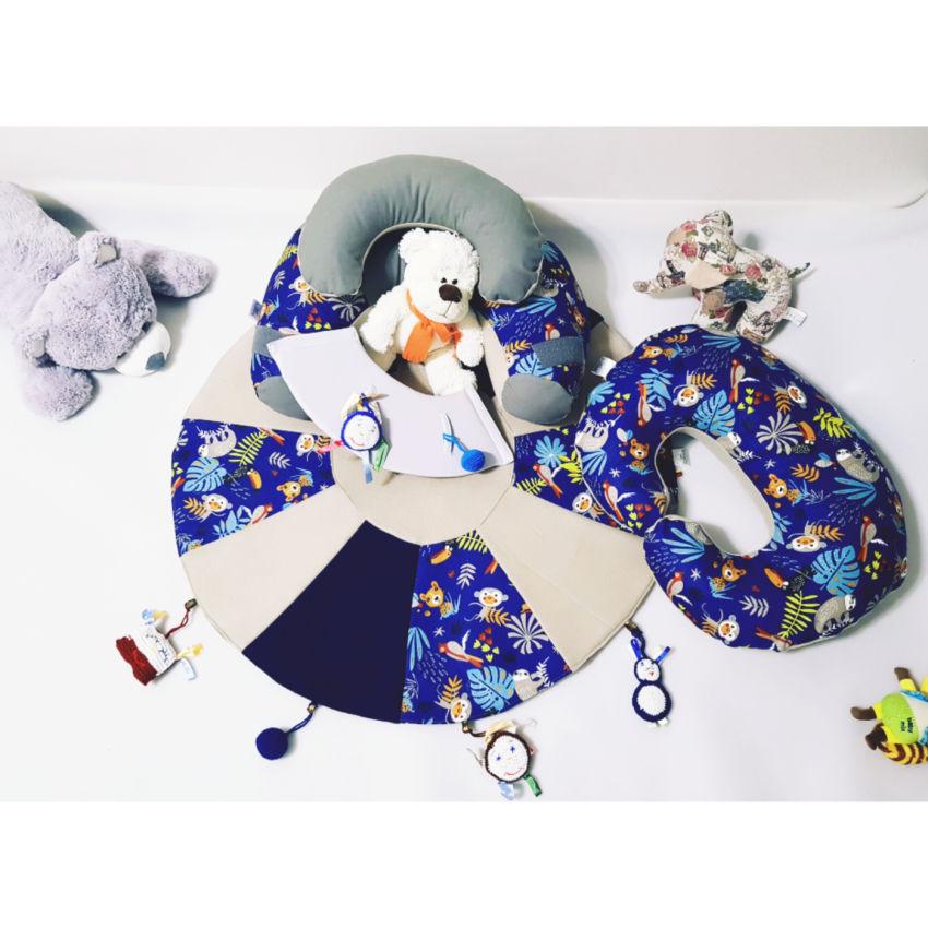 dekoracijos   kilimėliai   sėdėjimo/atraminė pagalvė + maitinimo/ži