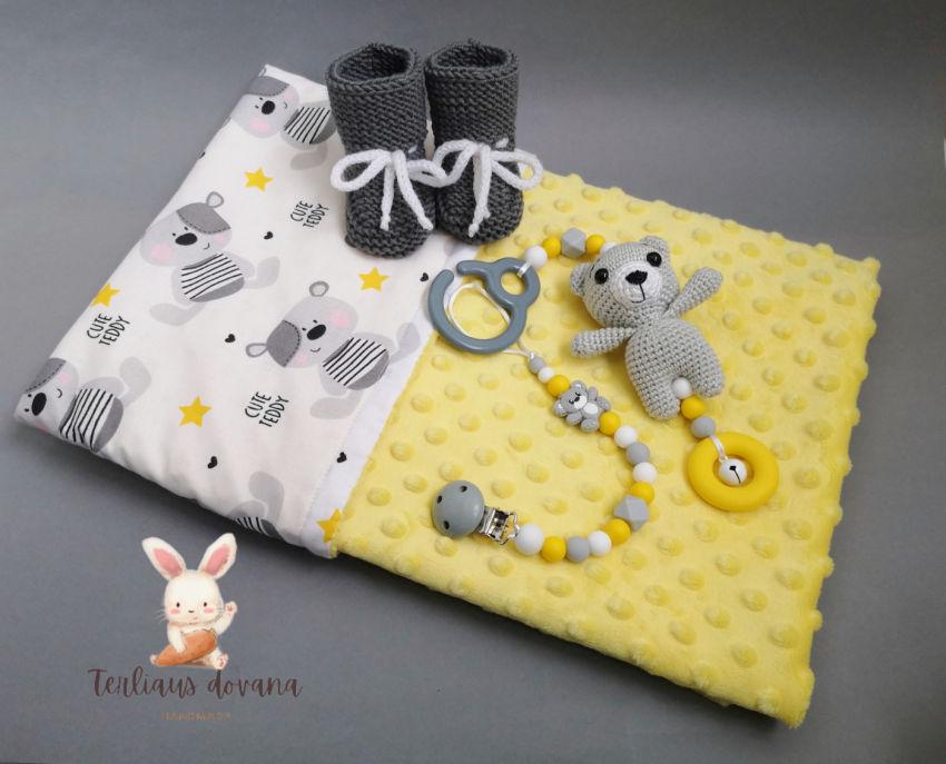 apranga mergaitėms | Komplektukai | keturių dalių dovanėlė kūdikiui tinka do