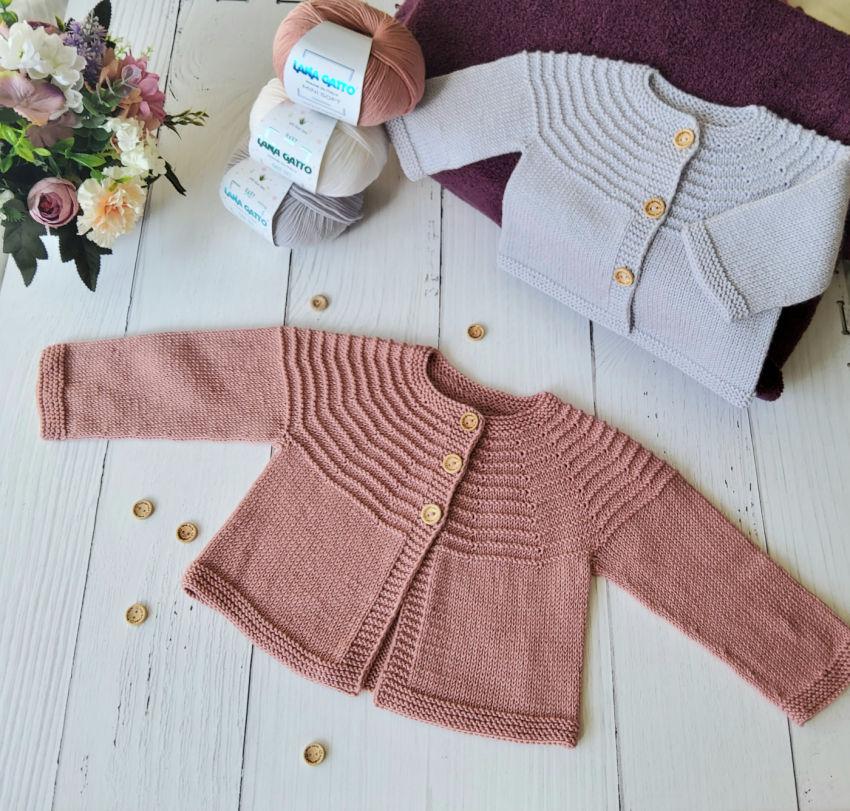 apranga mergaitėms   Megztukai   plonos merino vilnos megztinukas kūdikiu