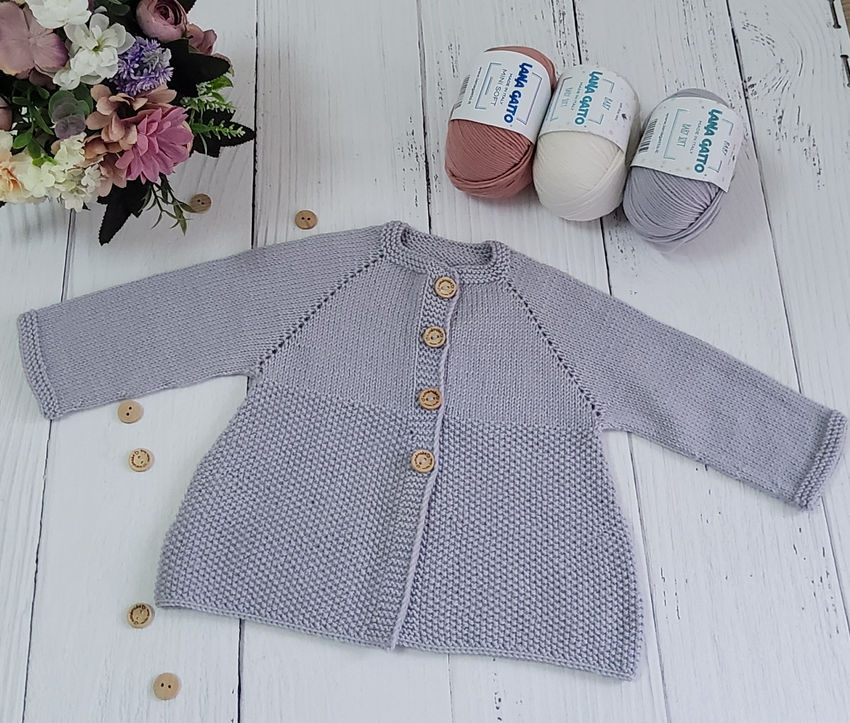 apranga mergaitėms | Megztukai | puošnus plonos merino vilnos megztinukas
