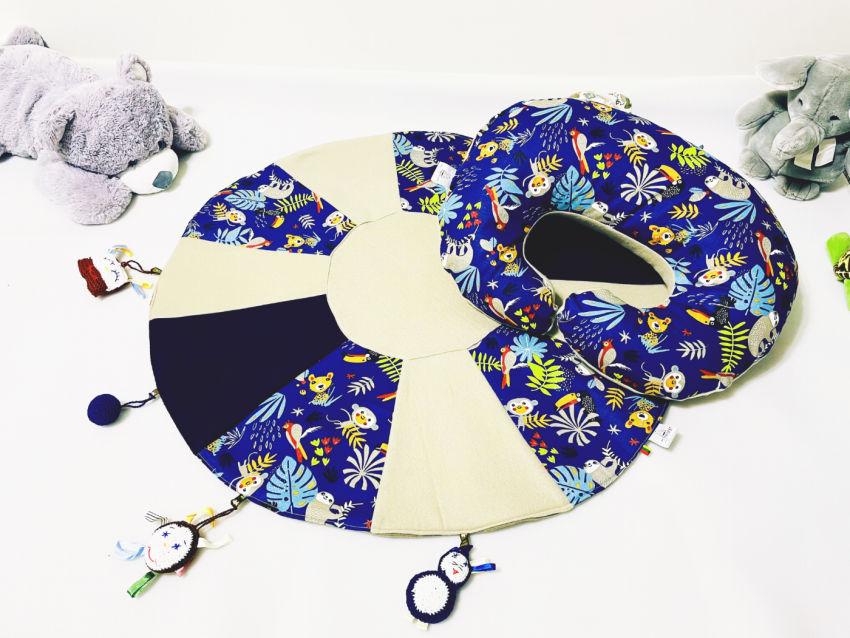 dekoracijos | pagalvėlės | maitinimo/žindymo pagalvė + lavinamasis