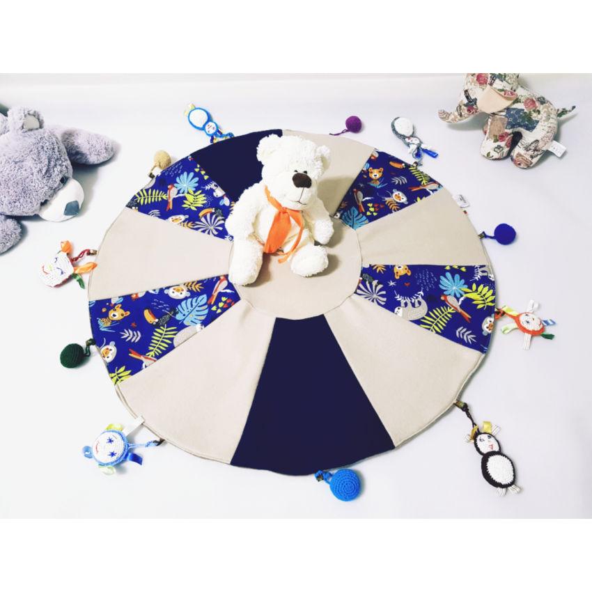 dekoracijos   kilimėliai   lavinamasis žaidimų kilimėlis su žaisliu