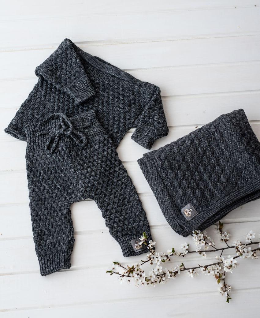 apranga berniukams   Komplektukai   merino vilnos kostiumėlis nuo gimimo iki