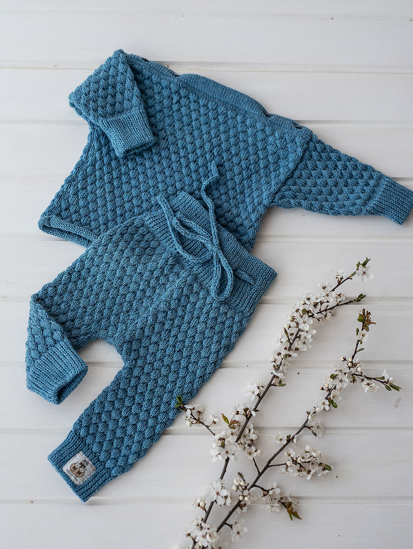 apranga berniukams | Komplektukai | merino vilnos kostiumėlis nuo gimimo iki