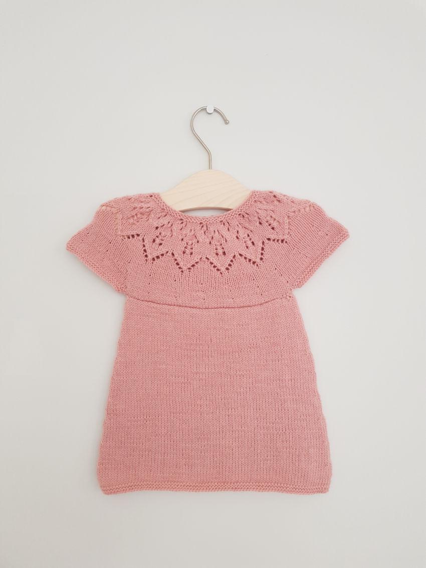 apranga mergaitėms | Suknelės | suknelė - sarafanas spalva rožinė kiaura