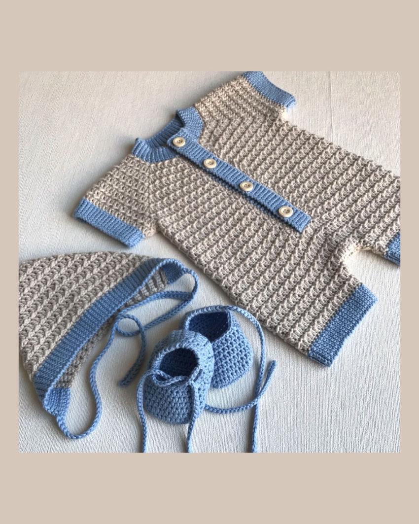 apranga berniukams   Komplektukai   vasarinis komplektukas mažyliui 0-3 mėn.