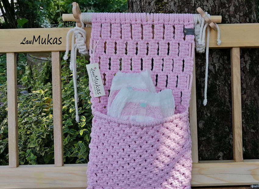 dekoracijos | krepšeliai | tvirtas pakabinamas krepšelis kūdikio da