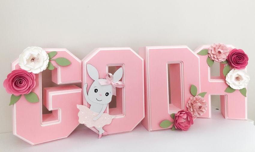 dekoracijos | šventėms | 17 cm aukščio 3d raidės jūsų pasirinkta