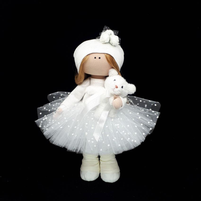 žaislai   lėlės   tekstilinė interjerinė siūta rankų darbo