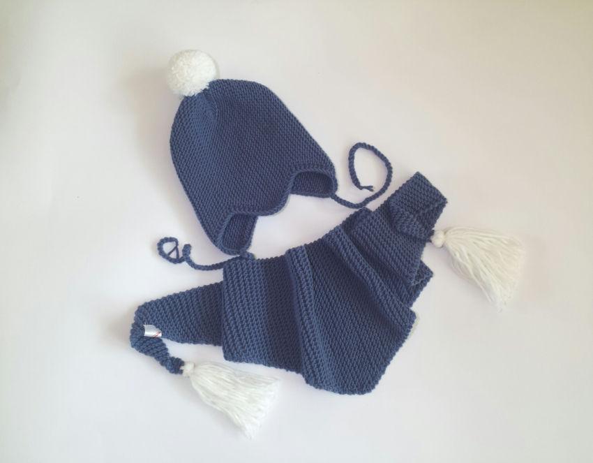 apranga berniukams | Kepurės | kepurytės ir šalikėlio komplektas. 100%