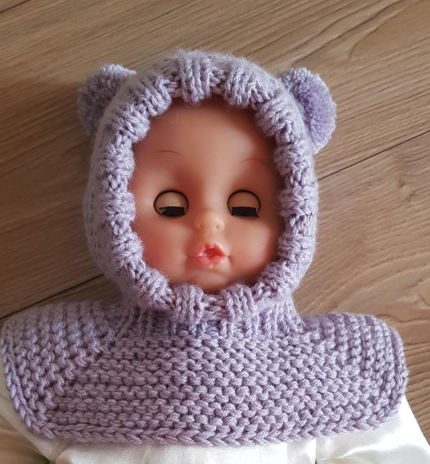 apranga berniukams | Kepurės | kepurytė šalmiukas nuo 0-3 mėnesių kūdik
