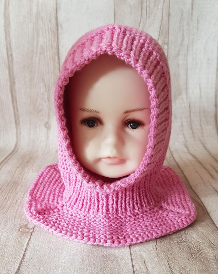 apranga mergaitėms   Kepurės   kepurytė šalmukas 1-2 metų mergytei. 100