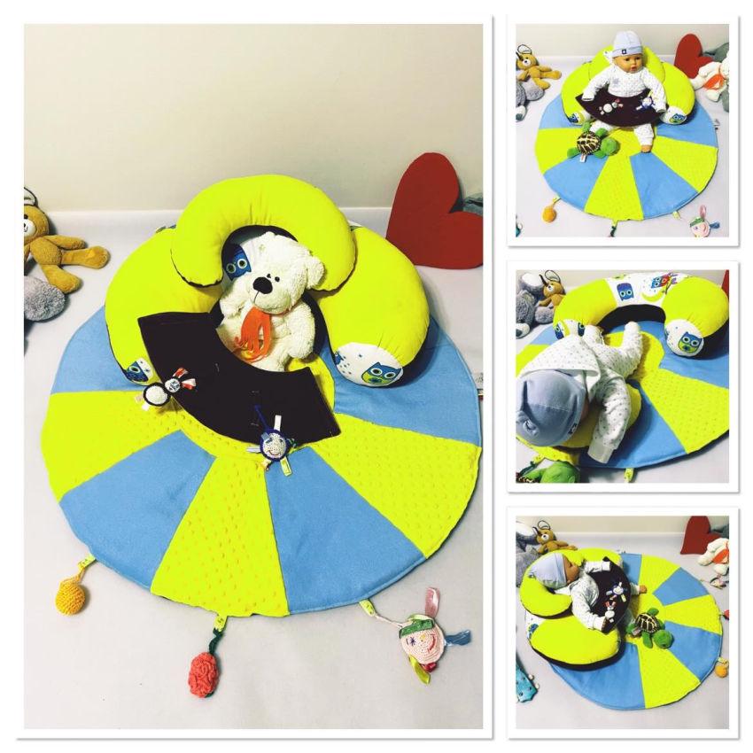 dekoracijos   kilimėliai   sėdėjimo/atraminė pagalvė su lavinamuoju
